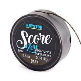 Kryston Score ZERO 45lb 10m DARK - (Ледкор без свинцового сердечника)