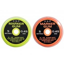 Маркерная резина 0.45 мм Оранжевая ESP  - Marker Gum Orange, 5 м