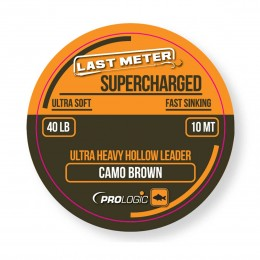 Лидкор Prologic Supercharged Hollow Leader 10m 40lbs Camo Leader