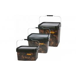 Ведро для прикормки FOX Camo Square Bucket 17L