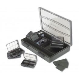 Коробка карповая Укомплектованная Большая Fox (Фокс) - F Box Deluxe Set - Large Single