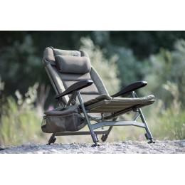 Кресло карповое Высокое + сумка для аксессуаров Solar - SP C-Tech Recliner Chair High