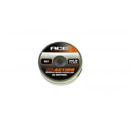 Поводковый материал Ace Re-Action 20m 35lb черный