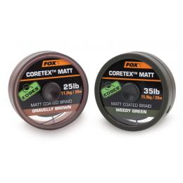 Поводковый материал Fox Edges Coretex Matt Brown
